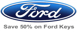 save 50% on replacement Ford keys Manchester