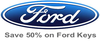 save 50% on replacement Ford keys and remote fobs