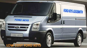Ford keys auto locksmith transit van